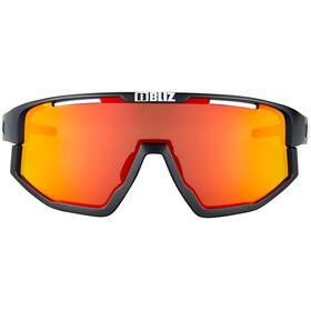 Bliz Vision Bril, matt black-matt black jawbone/brown-red multi